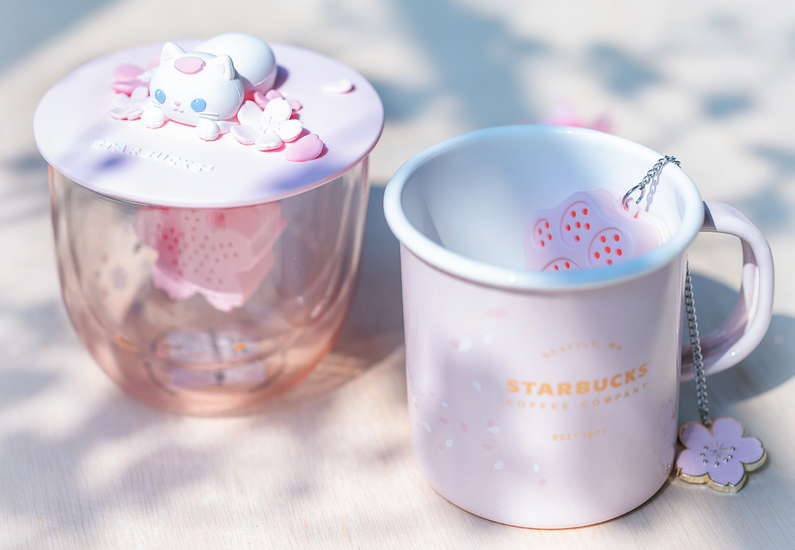 Welcome Spring with Singapore Starbucks' Sakura collection